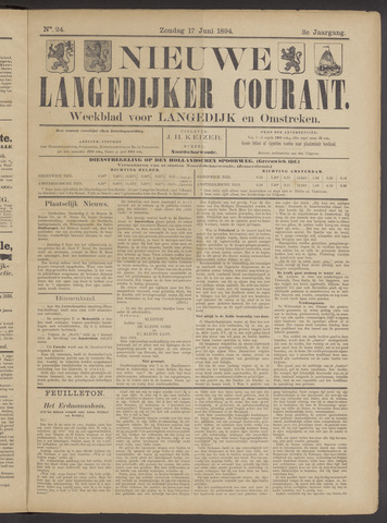 Nieuwe Langedijker Courant 1894-06-17