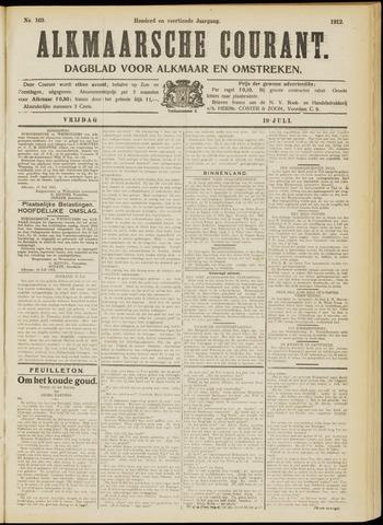 Alkmaarsche Courant 1912-07-19
