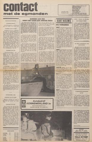 Contact met de Egmonden 1976-04-28