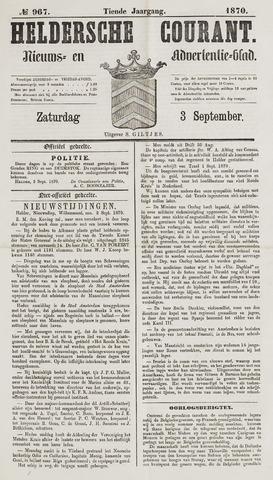 Heldersche Courant 1870-09-03