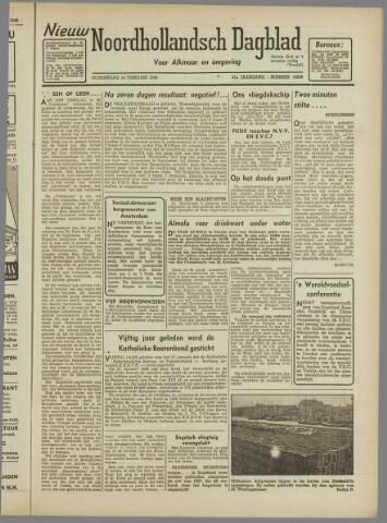 Nieuw Noordhollandsch Dagblad : voor Alkmaar en omgeving 1946-02-14