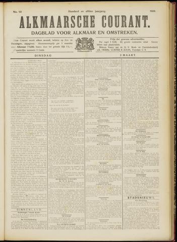 Alkmaarsche Courant 1909-03-02