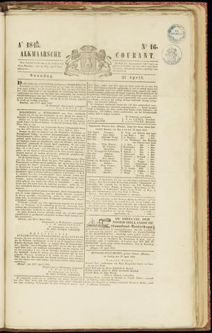 Alkmaarsche Courant 1845-04-21