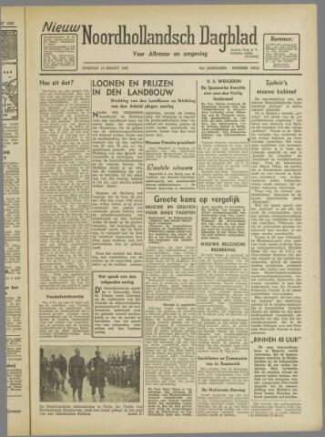 Nieuw Noordhollandsch Dagblad : voor Alkmaar en omgeving 1946-03-12