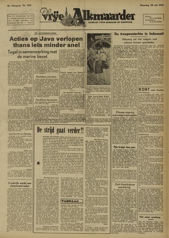 De Vrije Alkmaarder 1947-07-28