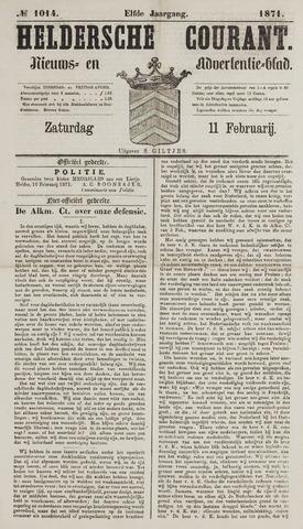 Heldersche Courant 1871-02-11