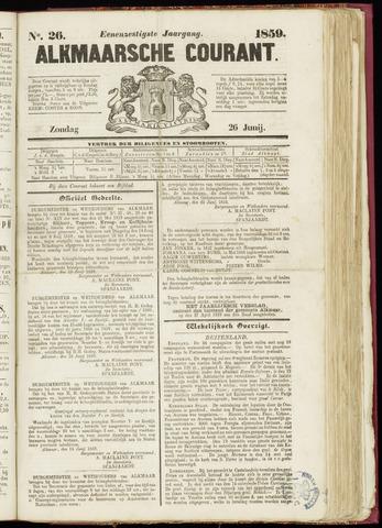 Alkmaarsche Courant 1859-06-26