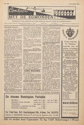 Contact met de Egmonden 1961-11-16