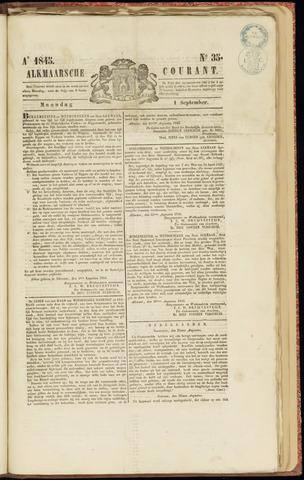 Alkmaarsche Courant 1845-09-01
