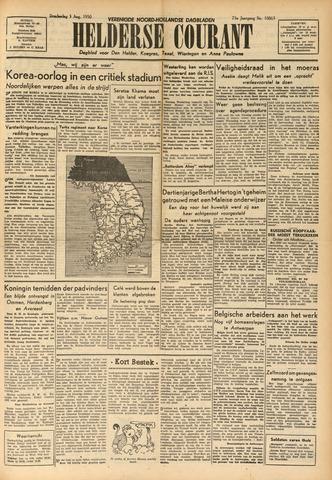 Heldersche Courant 1950-08-03