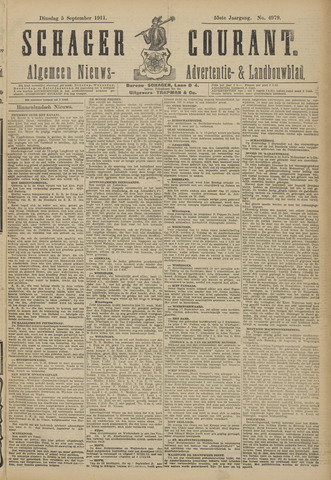 Schager Courant 1911-09-05
