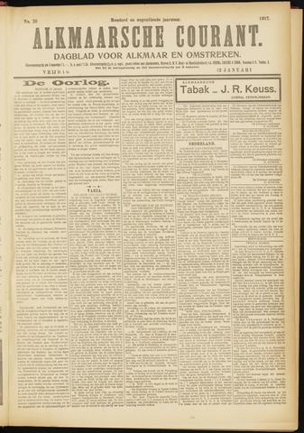 Alkmaarsche Courant 1917-01-12