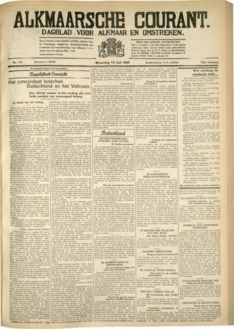Alkmaarsche Courant 1933-07-24