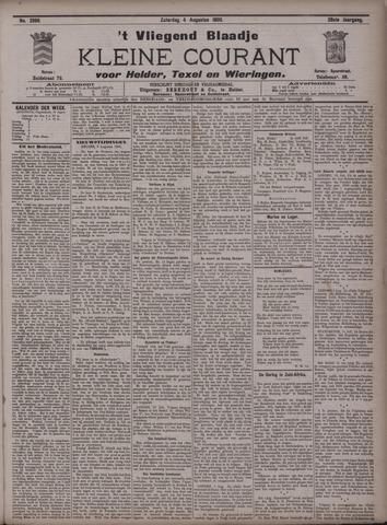 Vliegend blaadje : nieuws- en advertentiebode voor Den Helder 1900-08-04