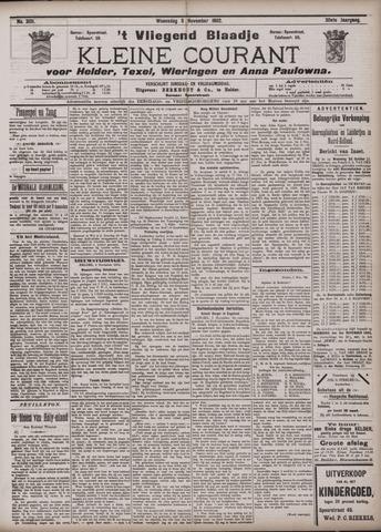 Vliegend blaadje : nieuws- en advertentiebode voor Den Helder 1902-11-05