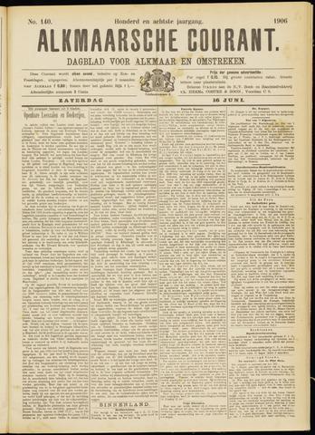 Alkmaarsche Courant 1906-06-16
