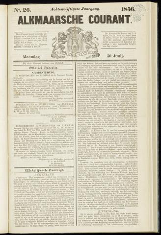 Alkmaarsche Courant 1856-06-30