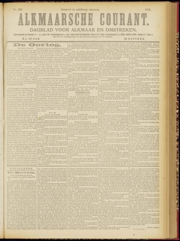 Alkmaarsche Courant 1916-10-23