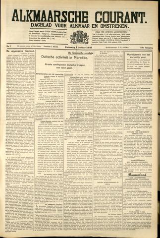 Alkmaarsche Courant 1937-01-09