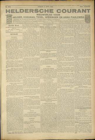Heldersche Courant 1925-04-14