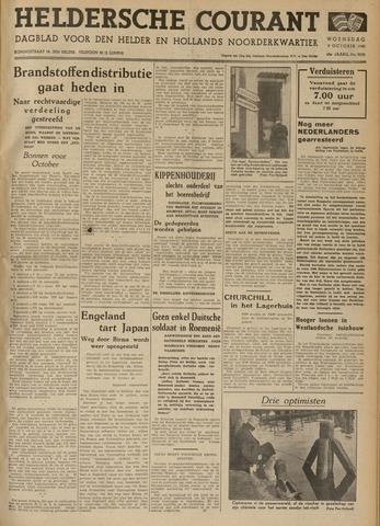 Heldersche Courant 1940-10-09