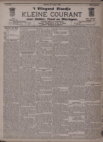 Vliegend blaadje : nieuws- en advertentiebode voor Den Helder 1900-01-27