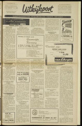 Uitkijkpost : nieuwsblad voor Heiloo e.o. 1962-12-13