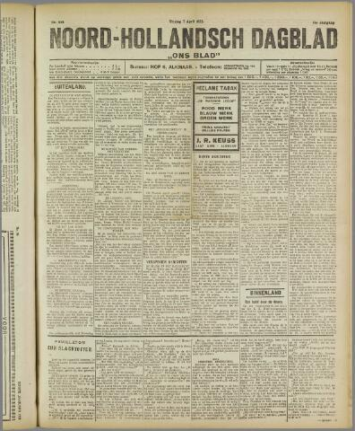 Ons Blad : katholiek nieuwsblad voor N-H 1922-04-07