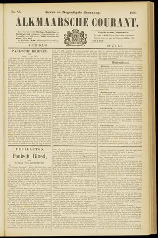 Alkmaarsche Courant 1895-07-19
