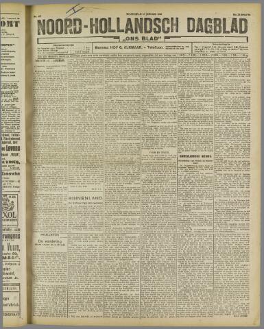 Ons Blad : katholiek nieuwsblad voor N-H 1922-01-19