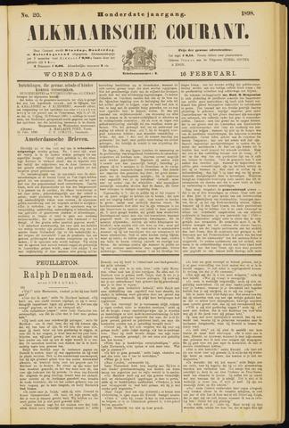 Alkmaarsche Courant 1898-02-16