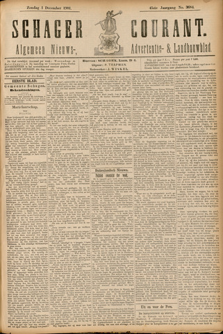 Schager Courant 1901-12-01