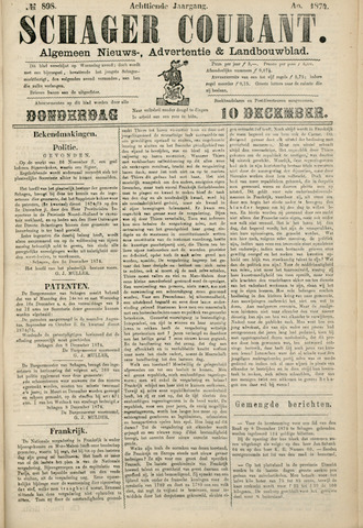 Schager Courant 1874-12-10