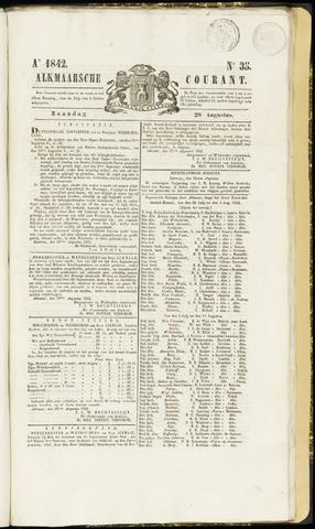 Alkmaarsche Courant 1842-08-29