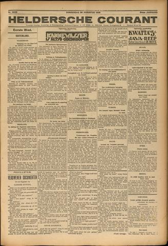 Heldersche Courant 1926-08-26