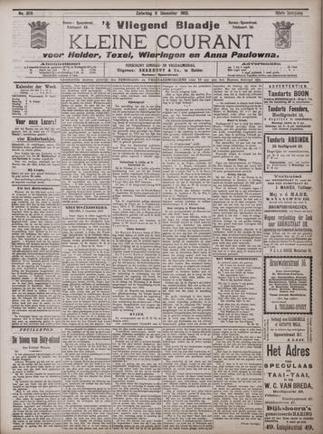 Vliegend blaadje : nieuws- en advertentiebode voor Den Helder 1902-12-06