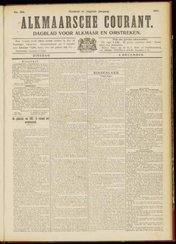 Alkmaarsche Courant 1907-12-04