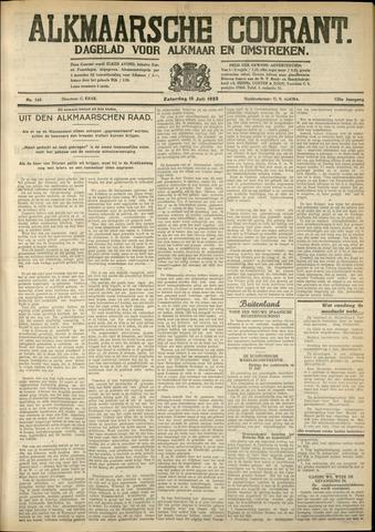 Alkmaarsche Courant 1933-07-15