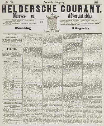 Heldersche Courant 1876-08-09