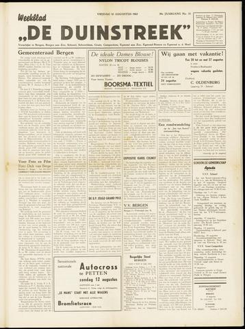 De Duinstreek 1962-08-10