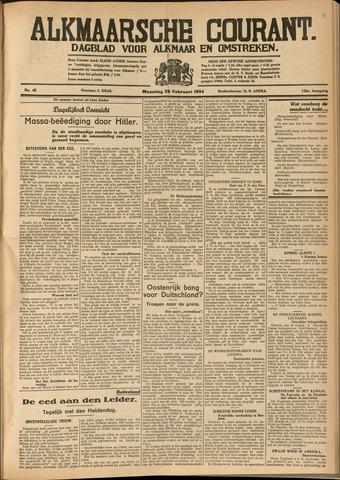 Alkmaarsche Courant 1934-02-26