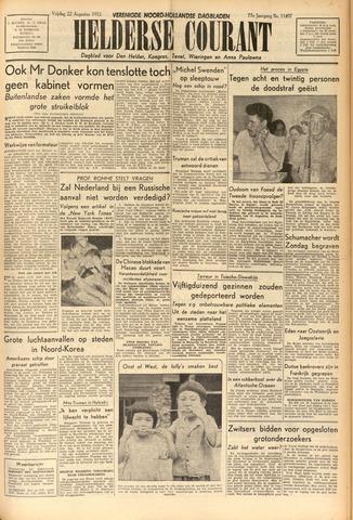 Heldersche Courant 1952-08-22