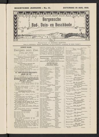 Bergensche bad-, duin- en boschbode 1928-08-25