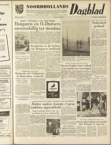 Noordhollands Dagblad : dagblad voor Alkmaar en omgeving 1958-11-17