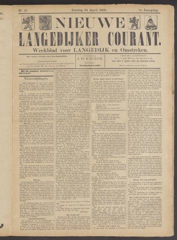 Nieuwe Langedijker Courant 1898-04-24