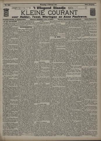 Vliegend blaadje : nieuws- en advertentiebode voor Den Helder 1910-02-09