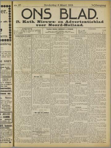 Ons Blad : katholiek nieuwsblad voor N-H 1913-03-06