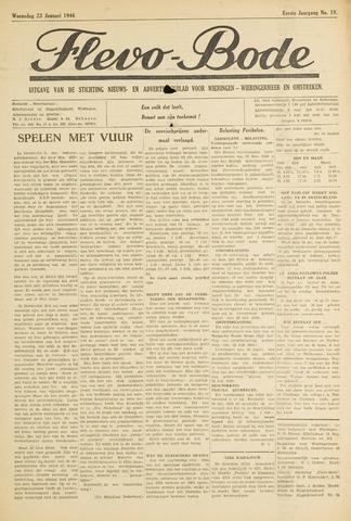 Flevo-bode: nieuwsblad voor Wieringen-Wieringermeer 1946-01-23