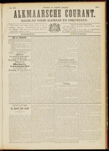Alkmaarsche Courant 1907-11-06