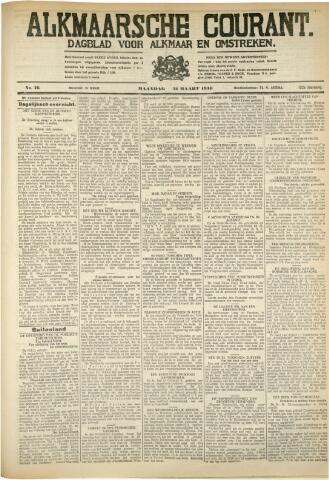 Alkmaarsche Courant 1930-03-31